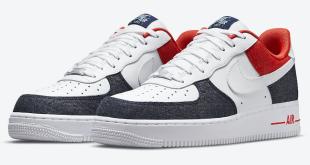 Nike Air Force 1 Low - USA Denim (DJ5174-100)