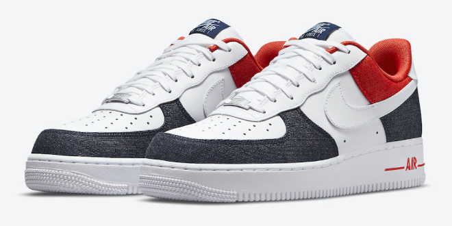 Nike Air Force 1 Low - USA Denim (DJ5174-100)