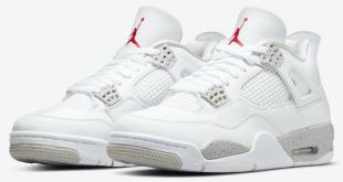 Release datum van de Air Jordan 4 – White Oreo (CT8527-100)