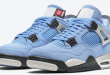 release datum van de Air Jordan 4 - University Blue (UNC) (CT8527-400)