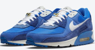 Nike Air Max 90 'First Use' - Signal Blue (DB0636-400)