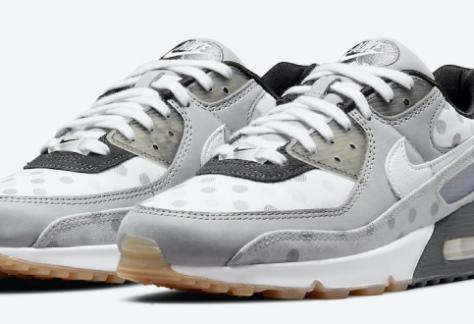 release datum van de Nike Air Max 90 - 'White Polka Dot' (CZ1929-100)
