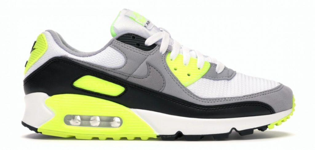 Deel 02 - Nike Air Max 90 OG - Volt - Under retail (sneaker)
