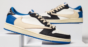 Fragment Design x Travis Scott x Air Jordan 1 Low (DM7866-140)