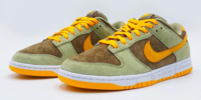 release datum van de Nike Dunk Low - Dusty Olive (DH5360-300) no