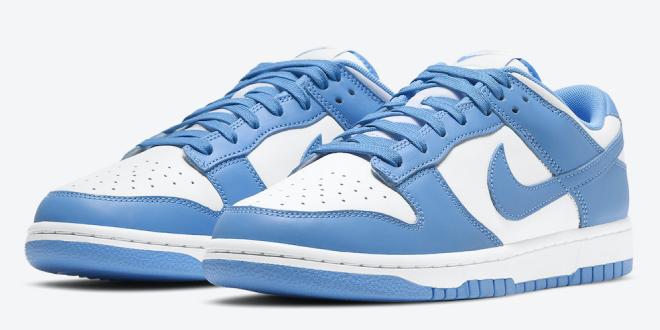 release datum van de Nike Dunk Low - University Blue (UNC) DD1391-102
