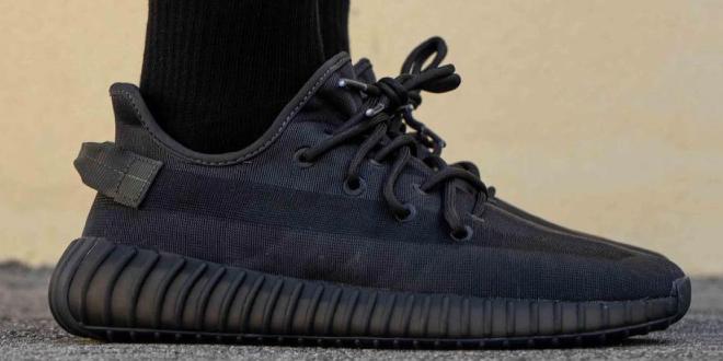 adidas Yeezy Boost 350 V2 - Mono Black