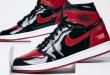 Air Jordan 1 High OG – Bred Patent (555088-063)