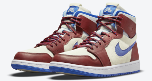 Air Jordan 1 Zoom (CMFT) - 'Team Red' (CT0979-104)