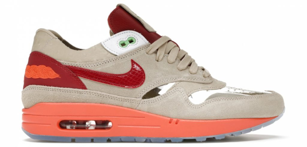 Goedkope sneakers deel 05 - Nike Air Max 1 Clot Kiss of Death (2021) - Stockx Under retail - sneakers