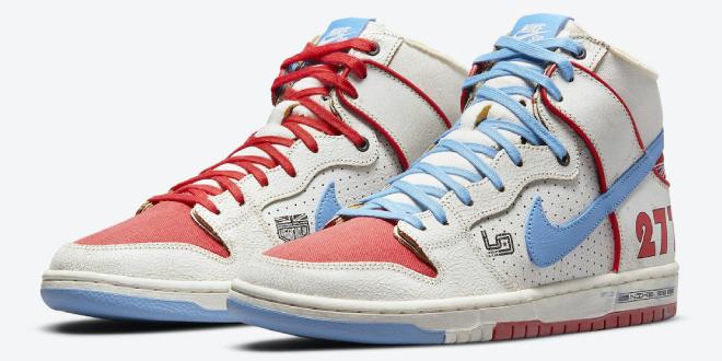 release info: Ishod Wair x Magnus Walker x Nike SB Dunk High (DH7683-100)