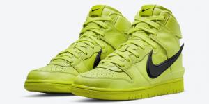 Ambush x Nike Dunk High - 'Flash Lime' (CU7544-300)