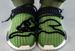 BBC Icecream x adidas NMD Hu Green - 'Running Dog' (GZ1664)