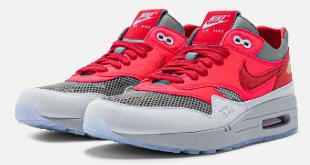 CLOT x Nike Air Max 1 - K.O.D. 'Solar Red' (DD1870-600)