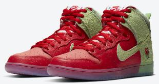 Nike SB Dunk High - 'Strawberry Cough' (CW7093-600)