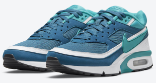 Nike Air Max BW - 'Marina Blue - Grey Jade' (DJ9648-400)