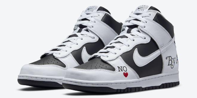 Supreme x Nike SB Dunk High - 'By Any Means' (DN3741-002)