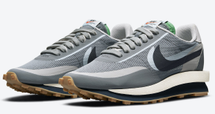 Clot x Sacai x Nike LDWaffle - Cool Grey (DH3114-001)