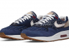 Denham x Nike Air Max 1 - Blue Void (CW7603-400)